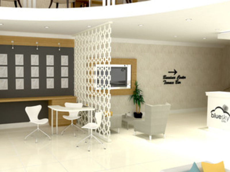 Blue Sky Hotel All Inclusive (بلو اسکای هتل آل اینكلوسیو)  Lobby
