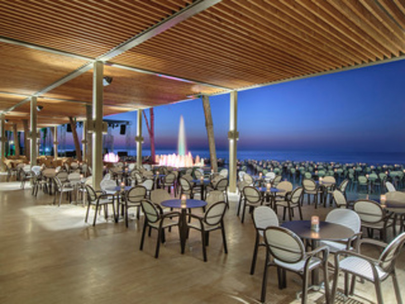 Alva Donna World Palace Hotel (آلوا دونا وورلد پالاس هتل)  Terrace