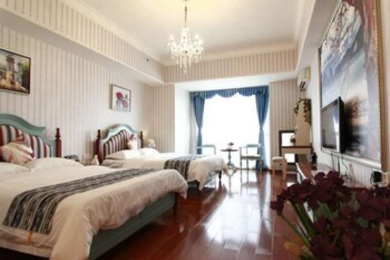 Yumi Apartment Panyu Wanda Sq Branch (یومی آپارتمان پانیو واندا اسک برانچ) Guestroom