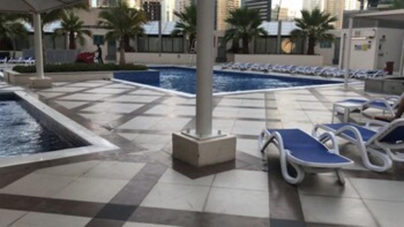Furnished Apartment In Dubai Marina (فرنیشد آپارتمان این دبی مارینا) Pool