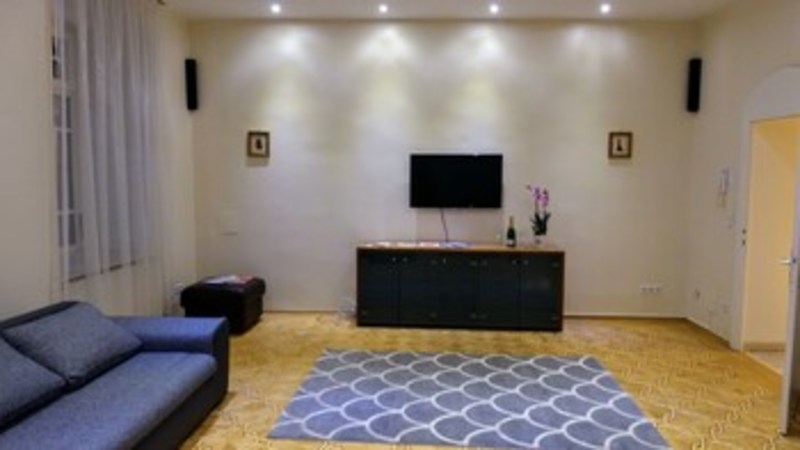 Kaiserin Elisabeth Suite By Welcome2vienna (كیسرین الیسابت سوئیت بای ولكوم۲وینا)  Living Room