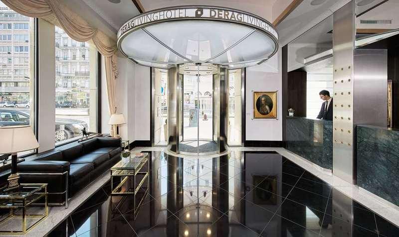 Derag Livinghotel An Der Oper (دراگ لیوینگهوتل آن در اوپر) Lobby view