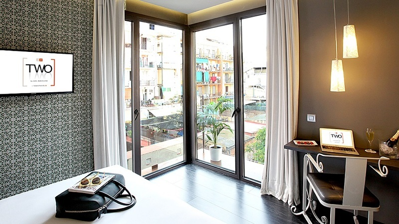 Two Hotel Barcelona By Axel General view