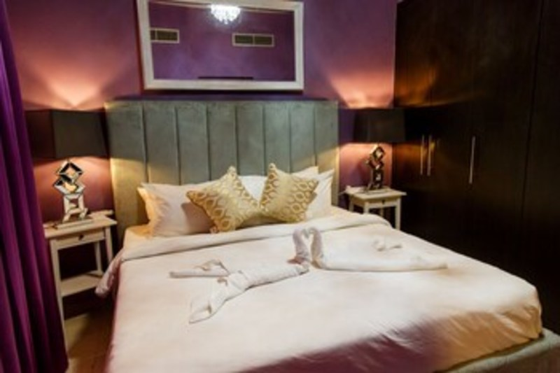 Furnished Apartment In Dubai Marina (فرنیشد آپارتمان این دبی مارینا) Guestroom